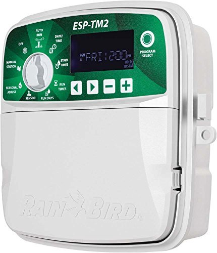 - Rain Bird ESP-TM2 Irrigation Controller (WiFi Module Not Included) / 12 Zones