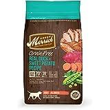 Merrick Grain Free Real Duck + Sweet Potato Recipe Dry Dog Food, 4-Pound