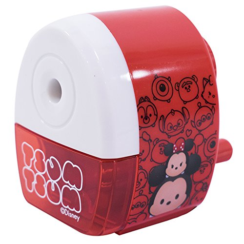 Apontador A Manivela Vermelho Tsum Tsum - Disney