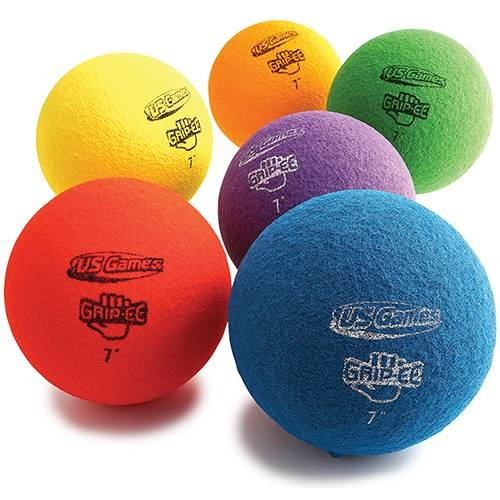US Games Usg Grippee 7 Ball Prism Pack BSN Sports 1395258