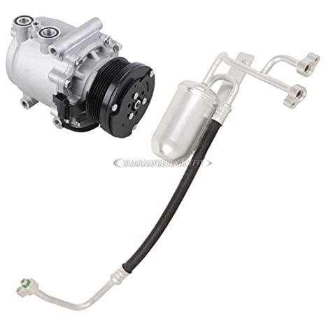 Premium calidad nueva AC Compresor y embrague con a/c secador para Ford Expedition –