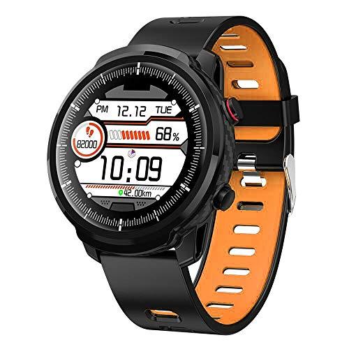 QIANRUNHE L3 IP68 wasserdichte Vollrunde Smartwatch Armband Bluetooth Step Blutdruck Sauerstoff Herzfrequenz Messung Uhr