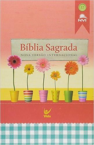 Book BÍBLIA NVI ECONÓMICA CAPA BROCHURA FEMININA PORTUGUÉS