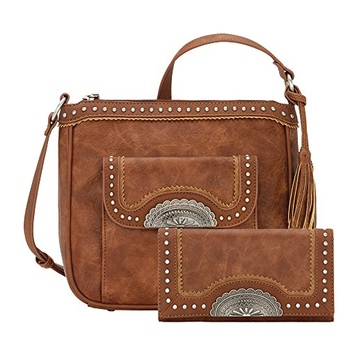 by Copper Matching Wallet Bandana Carry Organizer Concealed with Crossbody Purse xqwTTfgR0