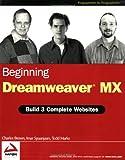 Beginning Dreamweaver MX, Charles Brown and Imar Spaanjaars, 0764544047