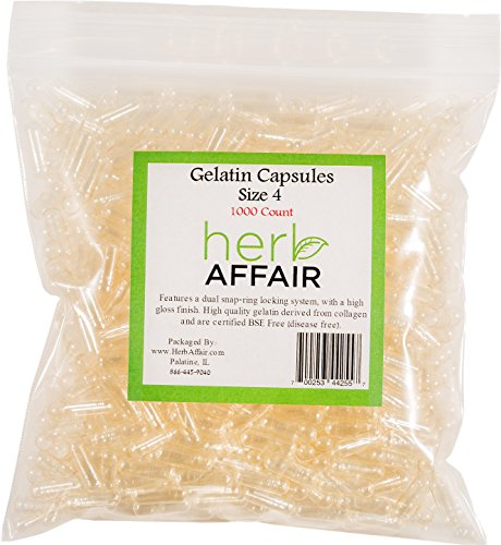 Herb Affair Clear Gelatin Capsules product image