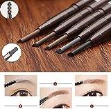 JaneDream Double Head Eyebrow Pencil Waterproof Automatic Eyeliner Pen Drawing Eye Brow