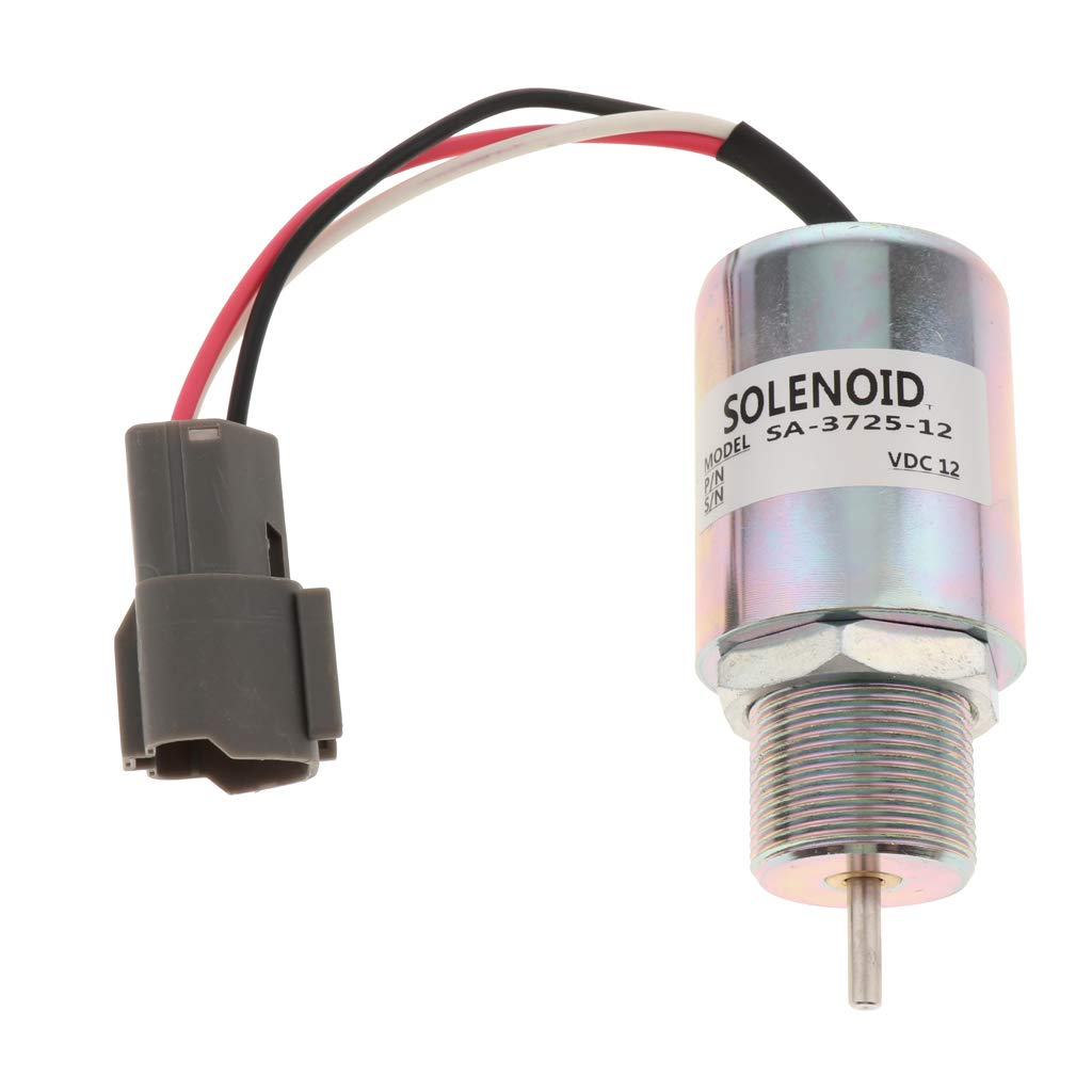 Baoblaze Performance Fuel Shut Off Solenoid for Mitsubishi S3L S3L2 Engine and for Mahindra Max 28 Tractor