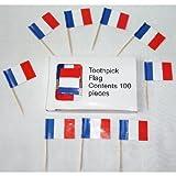 French Flag Hors d%27oeuvre Picks %2D Bo