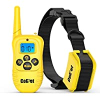 ColPet Rechargeable and Waterproof Remote Dog Shock Collar with Beep