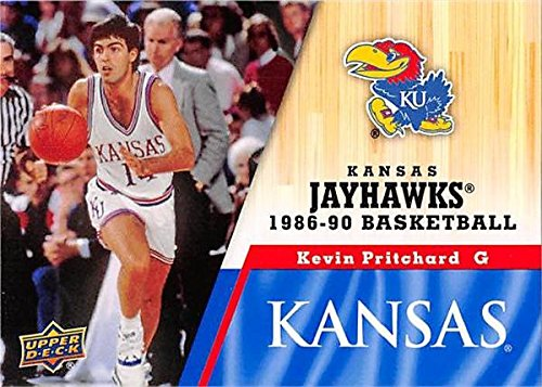 - Kevin Pritchard Basketball Card (Kansas Jayhawks, 1986-1990) 2013 Upper Deck #40