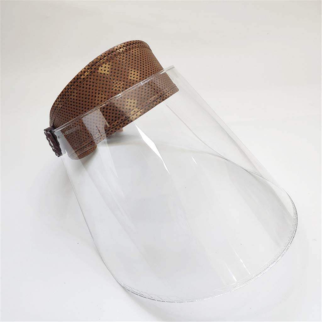 Anti-spit Protective Peaked Hat Dustproof Cover Baseball Adjustable Cap