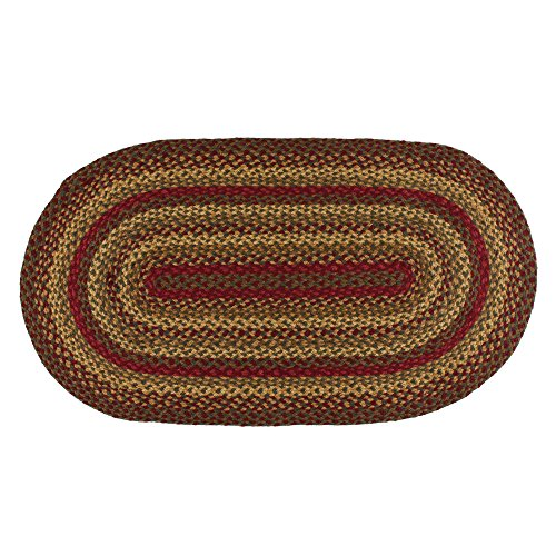 Cinnamon Oval Braided Rug x30 product image