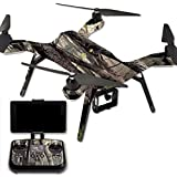 MightySkins Protective Vinyl Skin Decal for 3DR Solo Drone Quadcopter wrap cover sticker skins Tree Camo