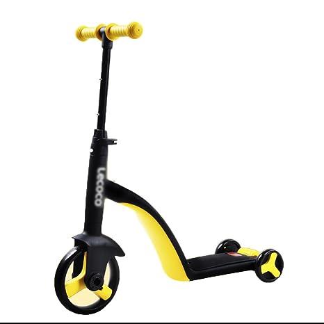 Patinete- Niños Scooter 3 en 1 2-6 Años de Edad Conversión ...