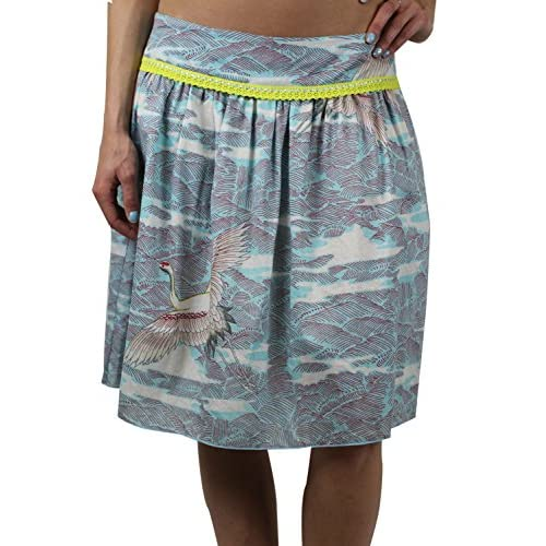 CUSTO BARCELONA Women's Around Cigogne Peasant Skirt 293521 for cheap