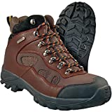 Itasca Men's Contractor II Toe Leather Work Fire and Safety Boot, Brown, 10 D US