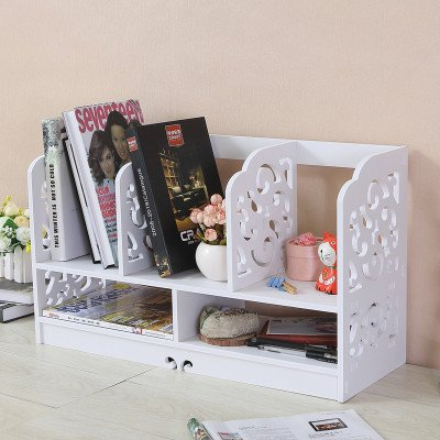 freestanding book shelf desk top organization creative table mini bookshelves racksdesktop organize - Large Bookshelves