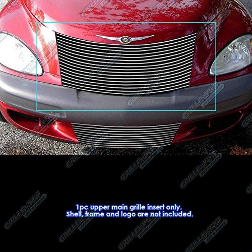 APS R85301A Polished Aluminum Billet Grille Replacement for select Chrysler PT Cruiser Models (Billet Grill Cruiser Pt)