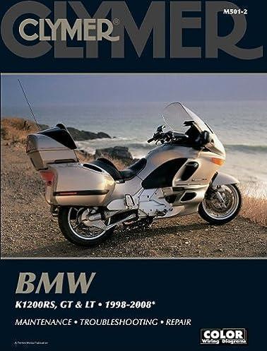 bmw k1200rs gt lt 1998 2008 clymer color wiring diagrams rh amazon co uk BMW E46 Wiring Diagrams 2002 bmw k1200rs wiring diagram