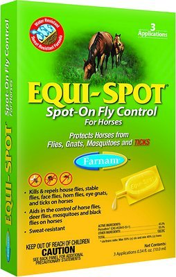 Farnam Equi-Spot Horse Spot-On Fly Control, 3-treatments