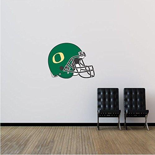 Oregon Ducks NCAA USA Helmet Logo College Sport Art Wall Decor Sticker 25'' x 19''