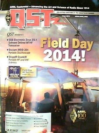 QST Magazine June 2014: Field Day 2014! for sale  Delivered anywhere in USA