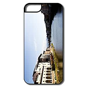 IPhone 5 5S Cases, Florence Landscape White/black Protector For IPhone 5 5S