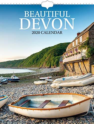 Beautiful Devon 2020 Wall Calendar - Postal Envelope Included