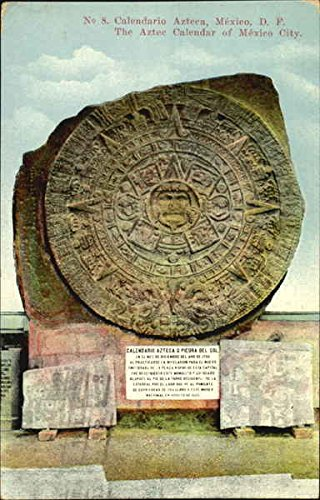 Amazoncom Calendario Azteca O Piedra Del Sol Mexico Original