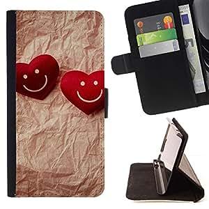 Momo Phone Case / Flip Funda de Cuero Case Cover - Amor pareja feliz - Samsung Galaxy S6 EDGE