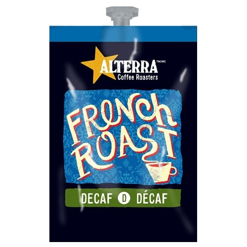 FLAVIA ALTERRA COFFEE, French Roast Decaf, 20-Count Freshpacks (Pack of 1 Rail)