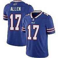 Thole Hombre NFL Camiseta Fútbol Bill Team 17# Allen Equipo Fútbol Training Jersey Uniformes