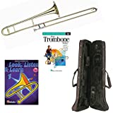 Play Trombone Today Deluxe Pack - Includes Bb Tenor Trombone, Self-Teaching Method DVD & Look, Listen & Learn Method Book Part 1