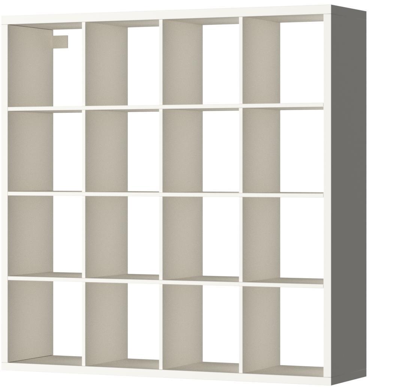 Ikea Estantería de Almacenamiento, Color Blanco, 147 x 147 cm