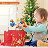 VicTsing Mobile Music Box Baby Crib Mobile Bed Bell Toy Holder Arm Bracket + Wind-up
