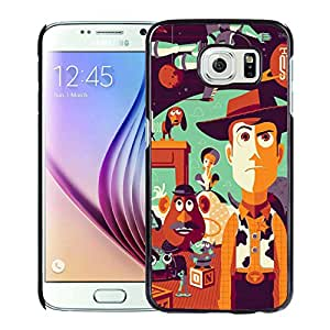 Unique and Grace Case Toy Story Samsung Galaxy S6 Phone Case in Black