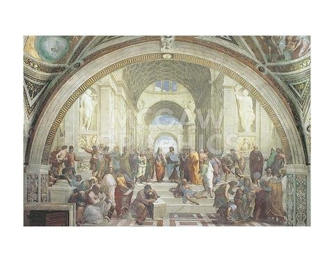 - The School of Athens, C.1511 - Poster by Raphael (14 x 11)