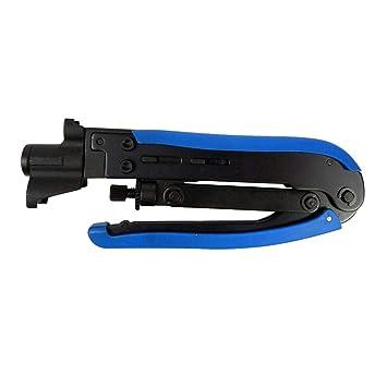 Homyl Alicate de Mano de Cable Coaxial Multifuncional Multiusos Herramientas Manuales Eléctricas: Amazon.es: Bricolaje y herramientas
