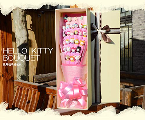 (Hello Kitty Bouquet, Toy Bouquet, Cute Gift, Birthday Gift, Valentine's Day Gift, Baby Shower Gift, Bridal Shower)