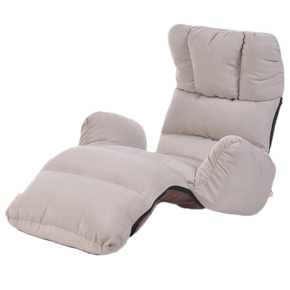 L-R-S-F Lazy Linen Sofa Chair Respaldo del Dormitorio Sofá Silla Flotador Ventana Silla Single Sofa Sillón Plegable (Color : Red.): Amazon.es: Hogar