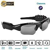 Camera Glasses,Bluetooth Sunglasses Camera Full HD 1080P with Wide Angle Mini Camera for Outdoor Sports