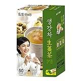 Cheap DAMTUH Korean Traditional Tea Premium Ginger Tea Plus, Ginger Powder, Herbal Supplement Healthy Ginger Tea, 50 Sticks