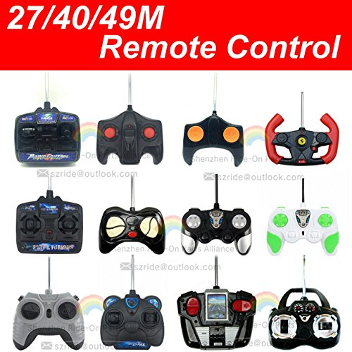 27MHz/49MHz Romote Control Kids Powe Wheels Remote Controller Transmitter Accessories for Ride On Toys Children Electric Car Replacement Parts (RC King 27MHZ)