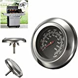 """SNNplapla 10~1000F Degrees Fahrenheit 3"""" Grill and Smoker Thermometer Temp Gauge Roast Barbecue BBQ"""
