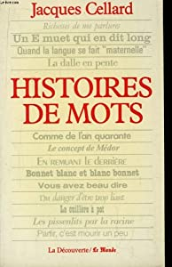 Paperback Histoires de mots (French Edition) [French] Book