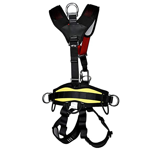 Amazon Com Multifunction Full Body Safety Belt Harness Equipment
