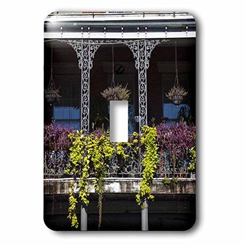 (3dRose LLC lsp_90501_1 Louisiana, New Orleans, Jackson Square, Balconym Us19 Wbi0194m Walter Bibikow Single Toggle Switch)