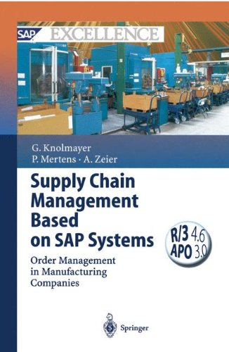 Download Supply Chain Management Based on SAP Systems: Order Management in Manufacturing Companies (SAP Excellence) PDF