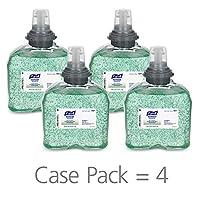 PURELL TFX Gel desinfectante para manos avanzado, refrescante de aloe, 1200 ml Recambio de desinfectante para dispensador sin contacto TFX (caja de 4) - 5457-04